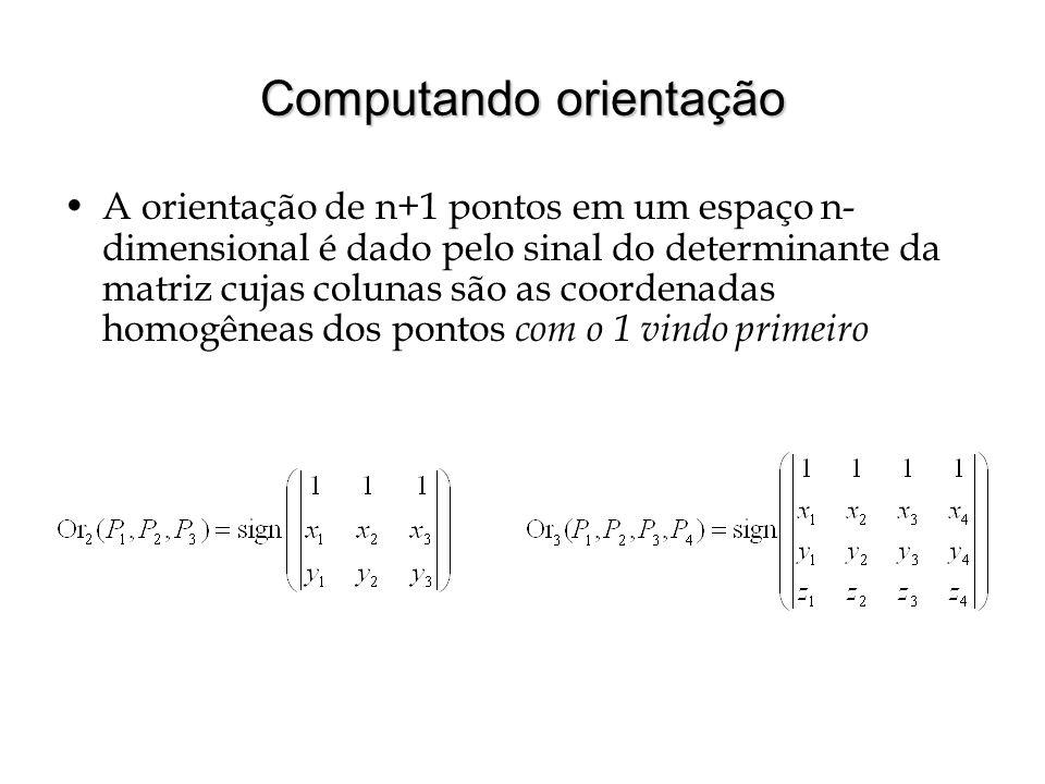 Computando orientação