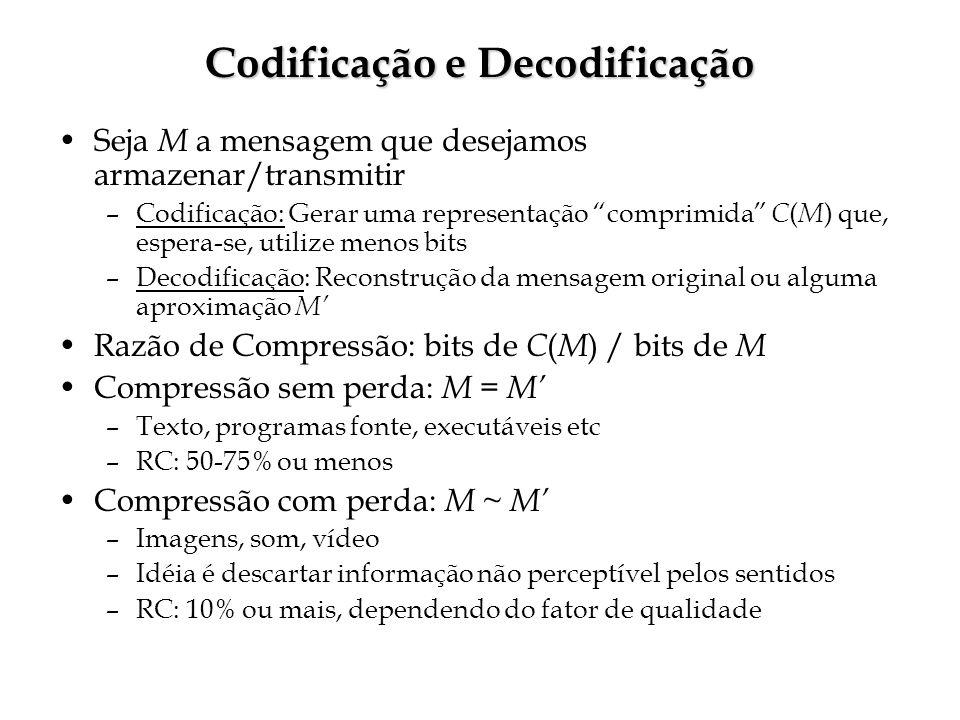 Codificação e Decodificação