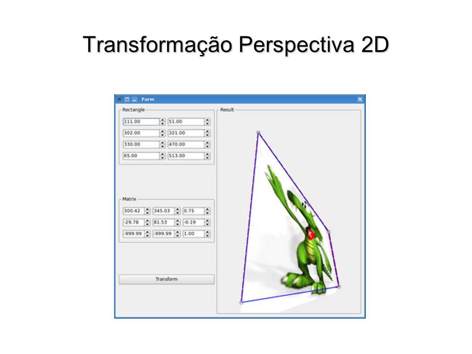 Transformação Perspectiva 2D