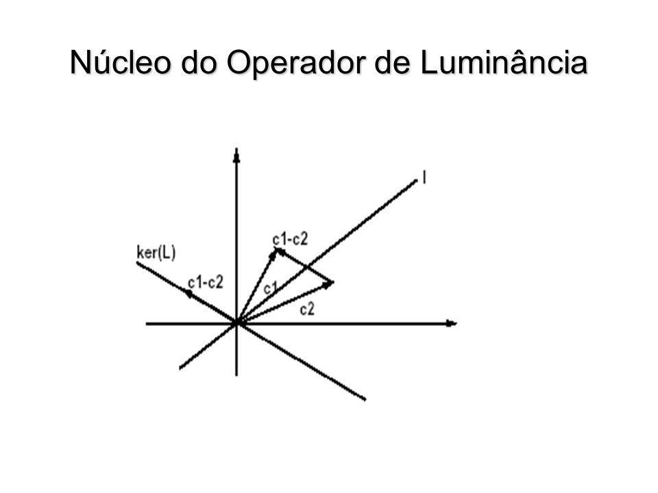 Núcleo do Operador de Luminância