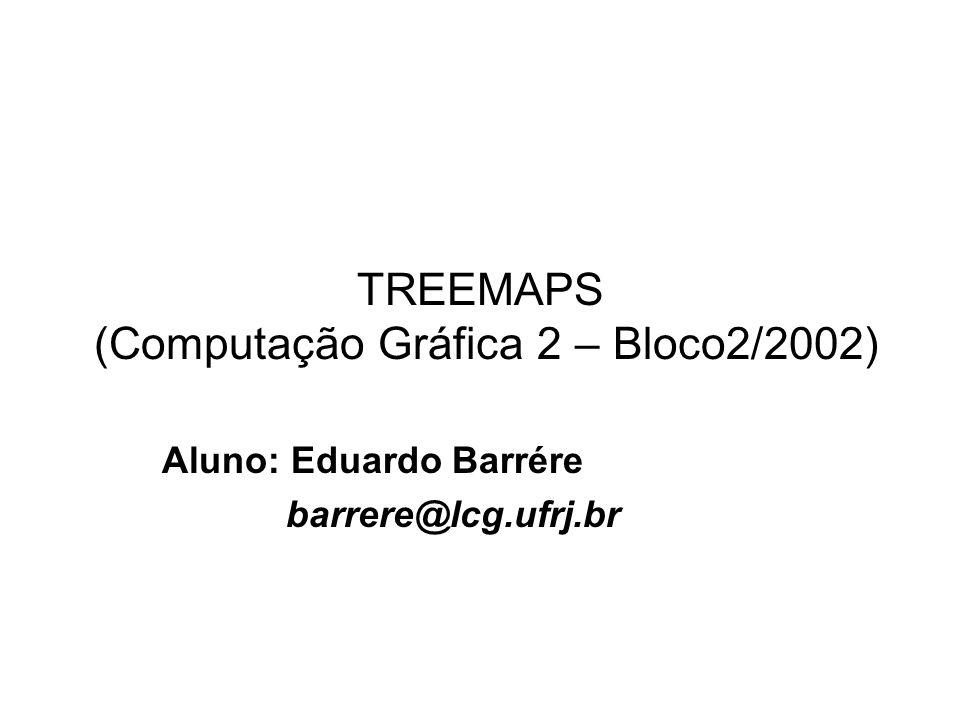 TREEMAPS (Computação Gráfica 2 – Bloco2/2002)