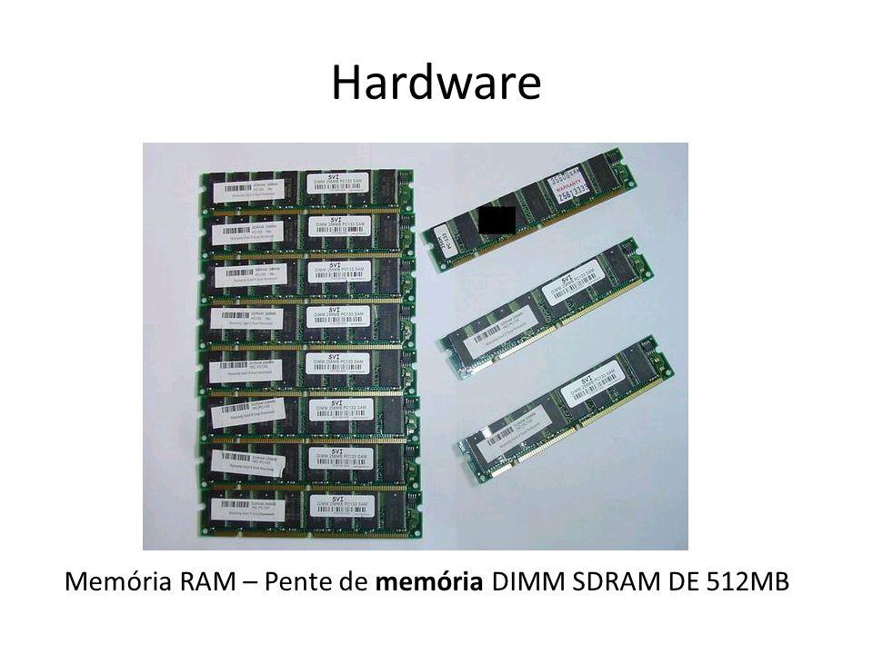 Memória RAM – Pente de memória DIMM SDRAM DE 512MB