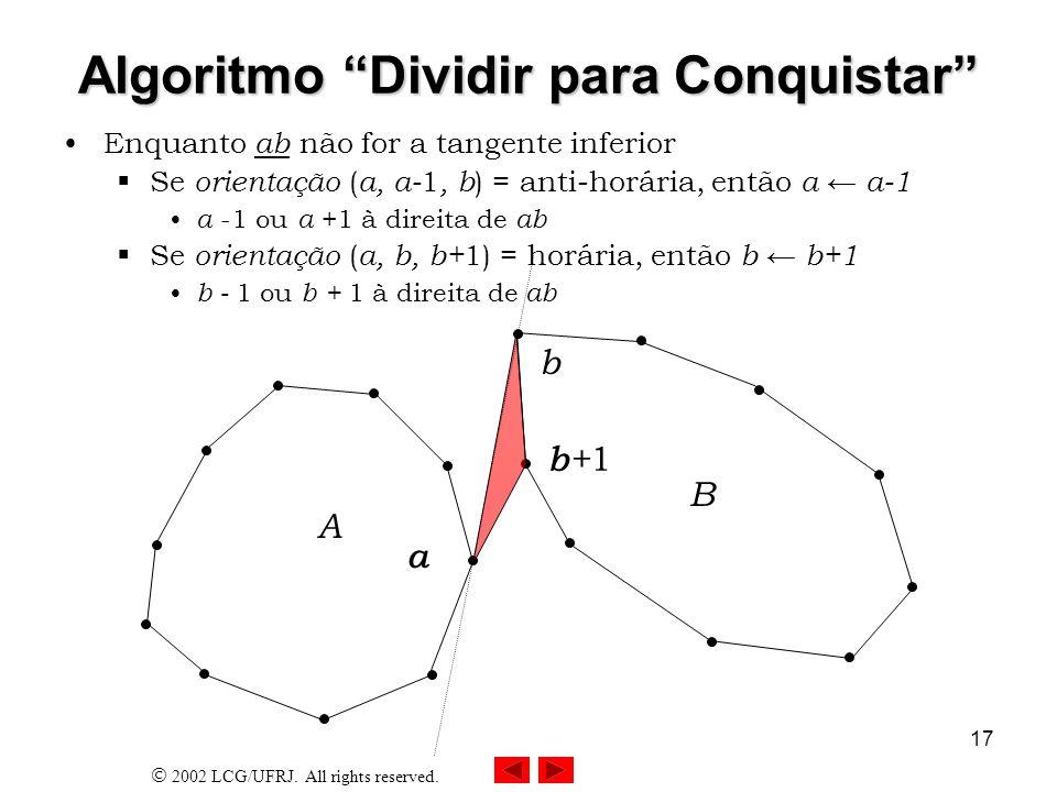 Algoritmo Dividir para Conquistar