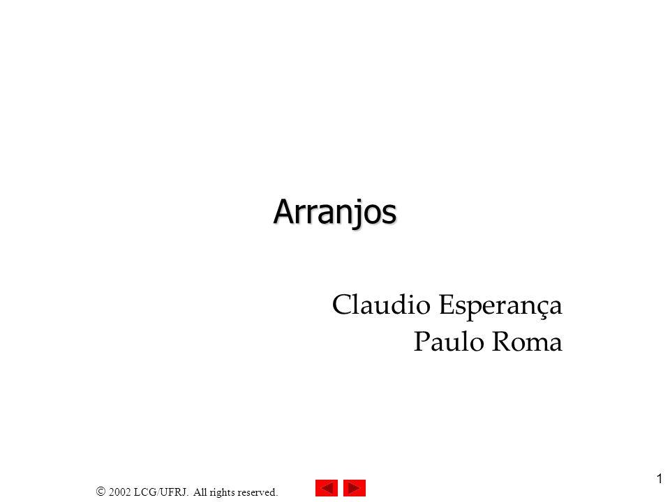 Claudio Esperança Paulo Roma