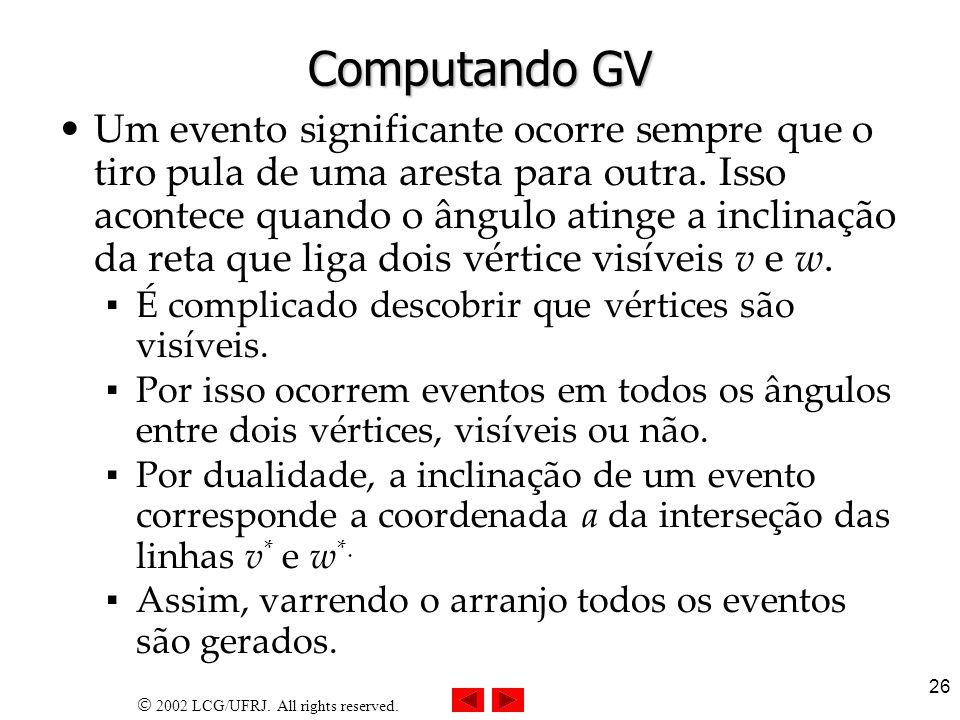 Computando GV