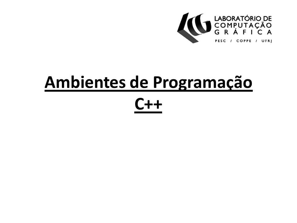 Ambientes de Programação C++