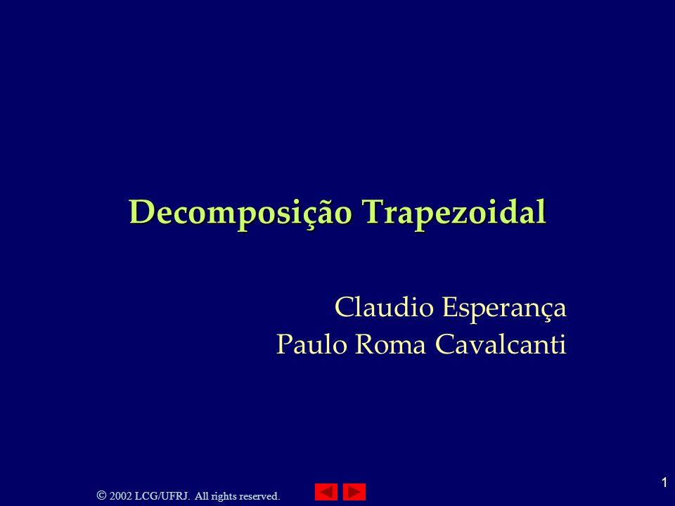 Decomposição Trapezoidal