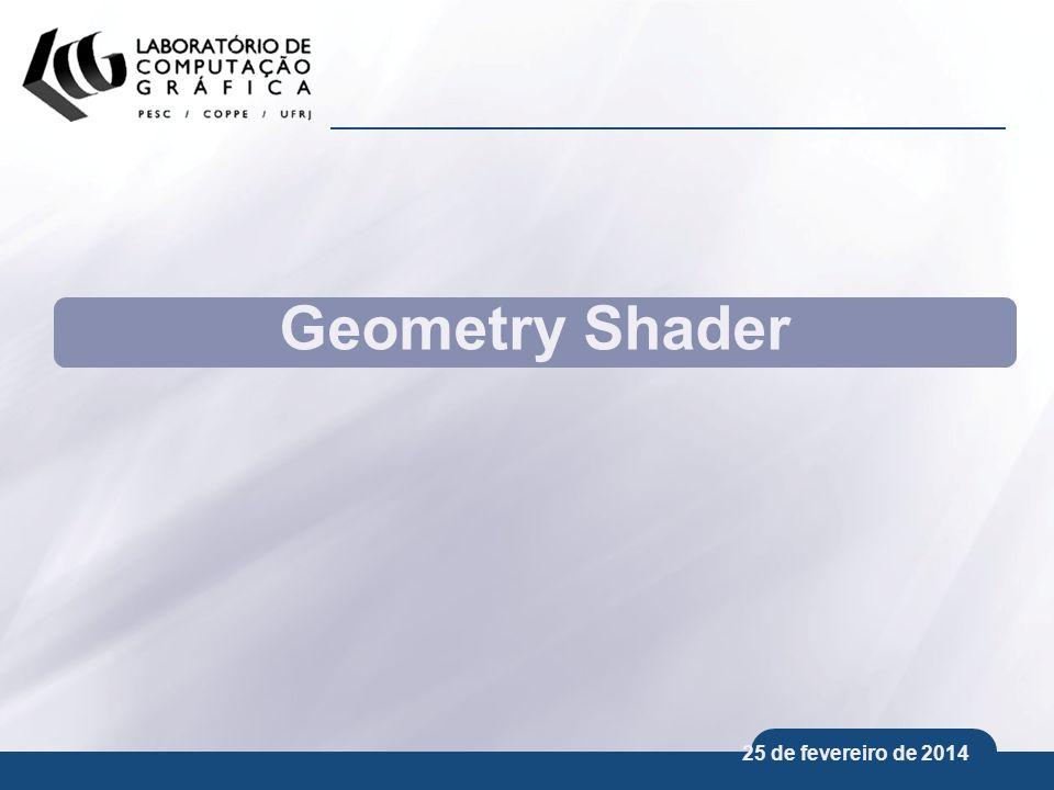 Geometry Shader 25 de março de 2017