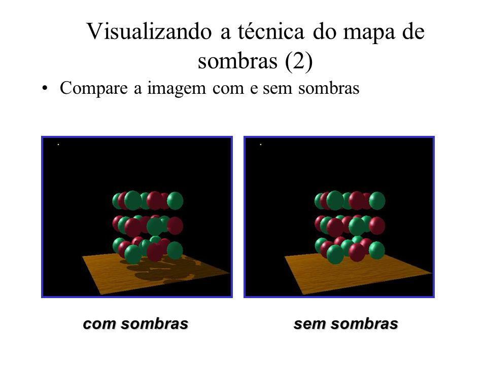 Visualizando a técnica do mapa de sombras (2)