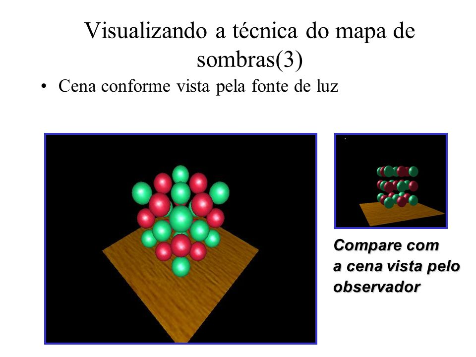 Visualizando a técnica do mapa de sombras(3)