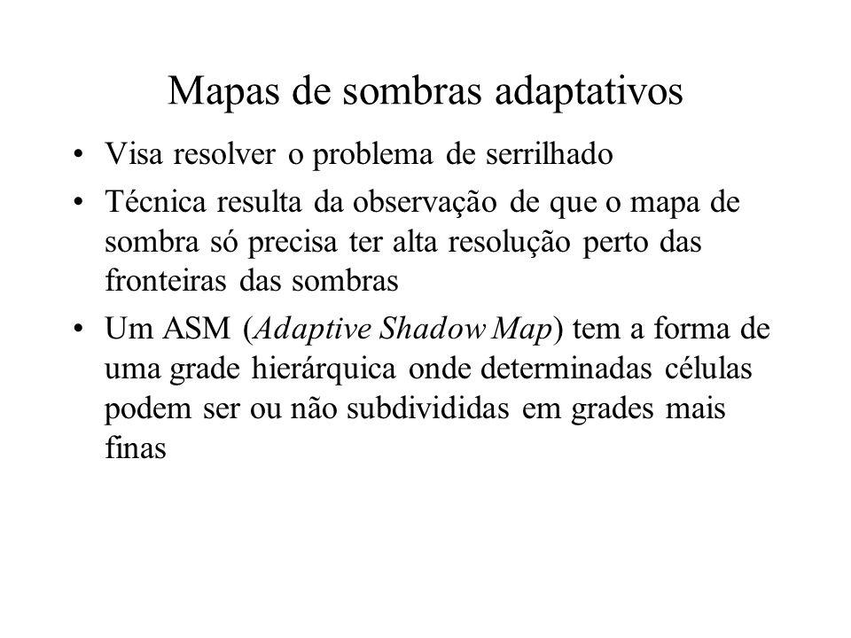 Mapas de sombras adaptativos