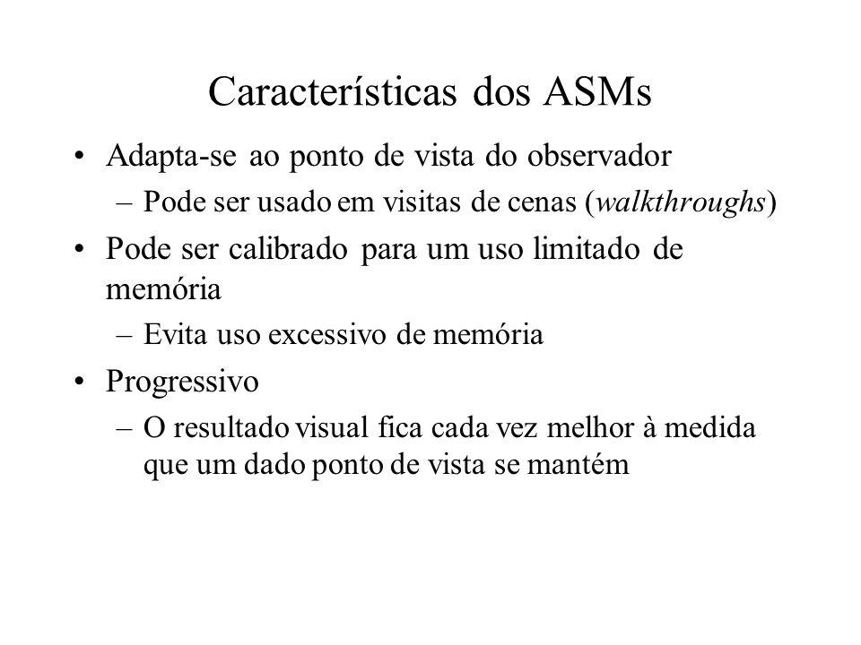 Características dos ASMs