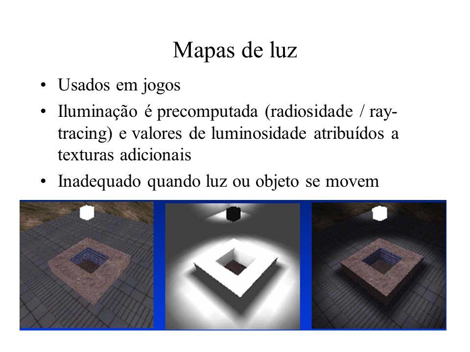 Mapas de luz Usados em jogos