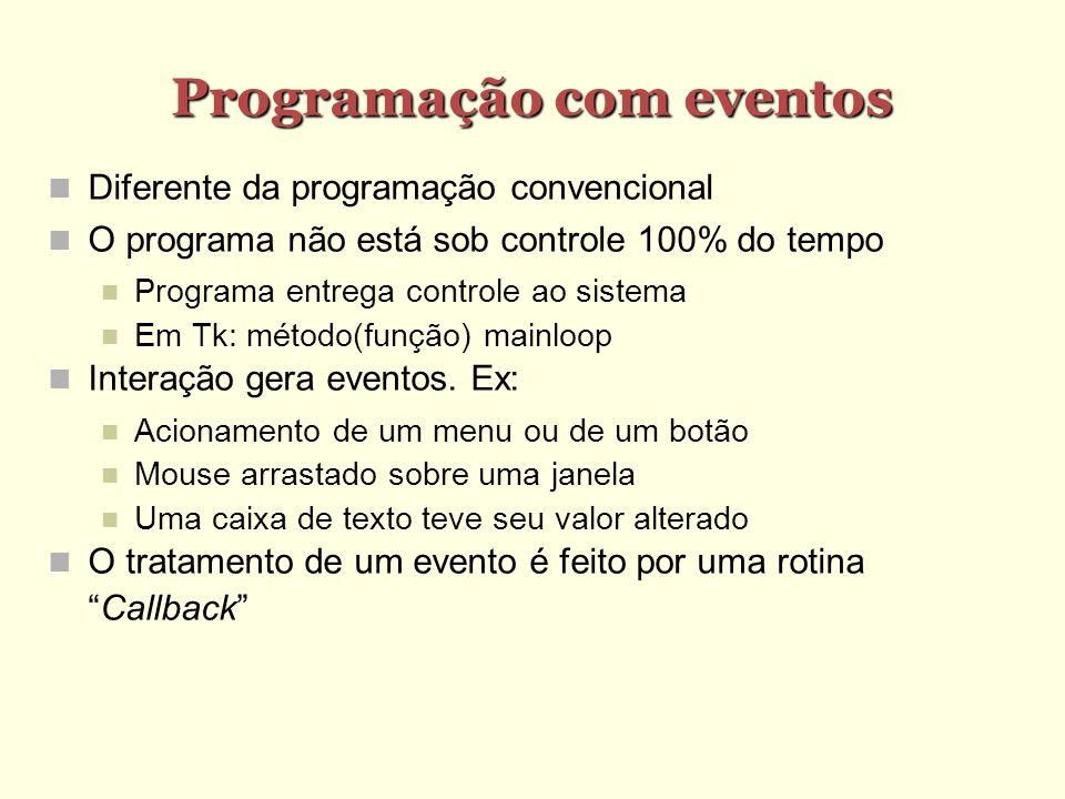 Programação com eventos