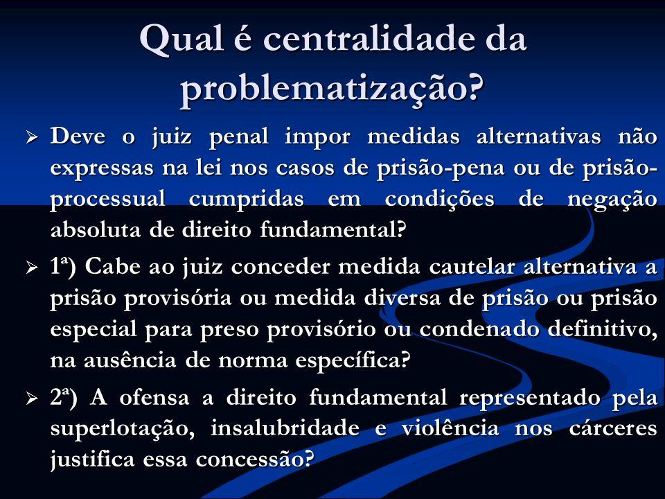 Qual é centralidade da problematização