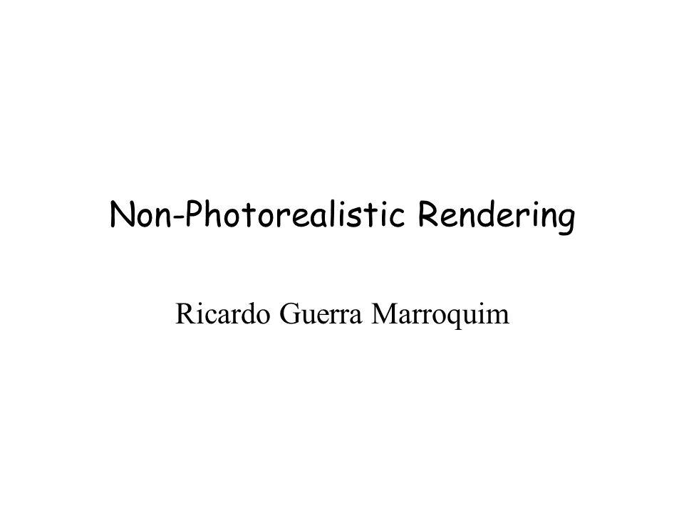 Non-Photorealistic Rendering