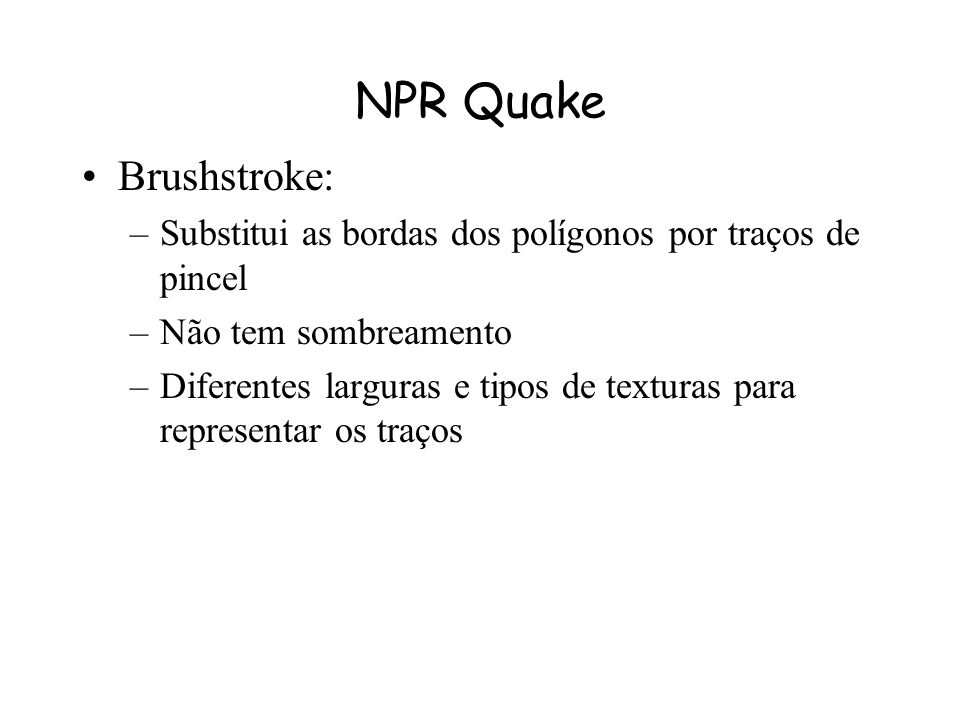 NPR Quake Brushstroke: