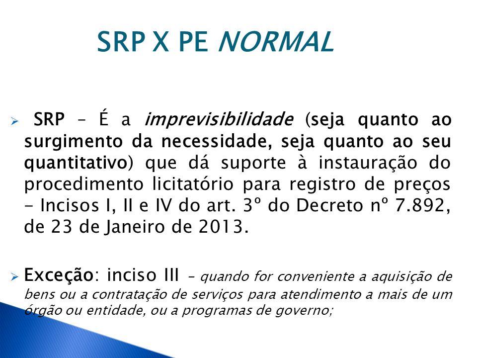 SRP X PE NORMAL