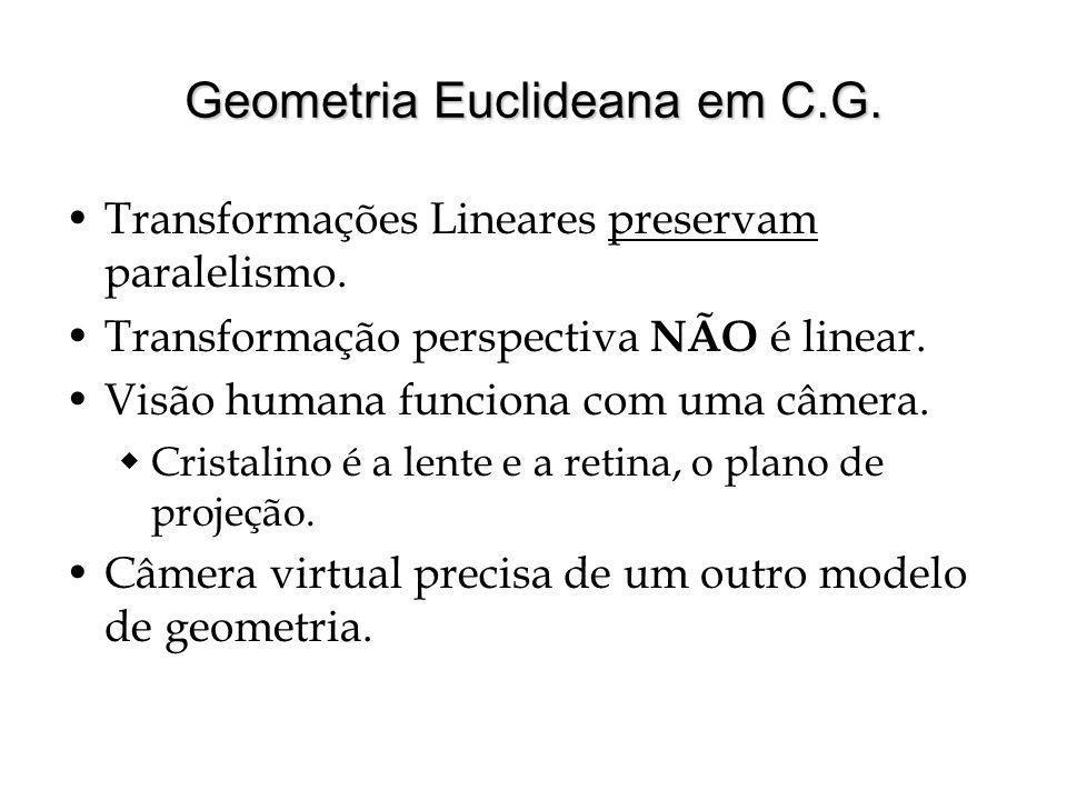 Geometria Euclideana em C.G.