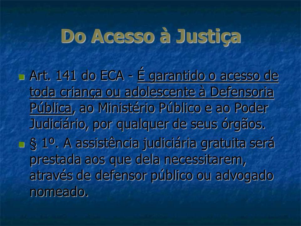 Do Acesso à Justiça