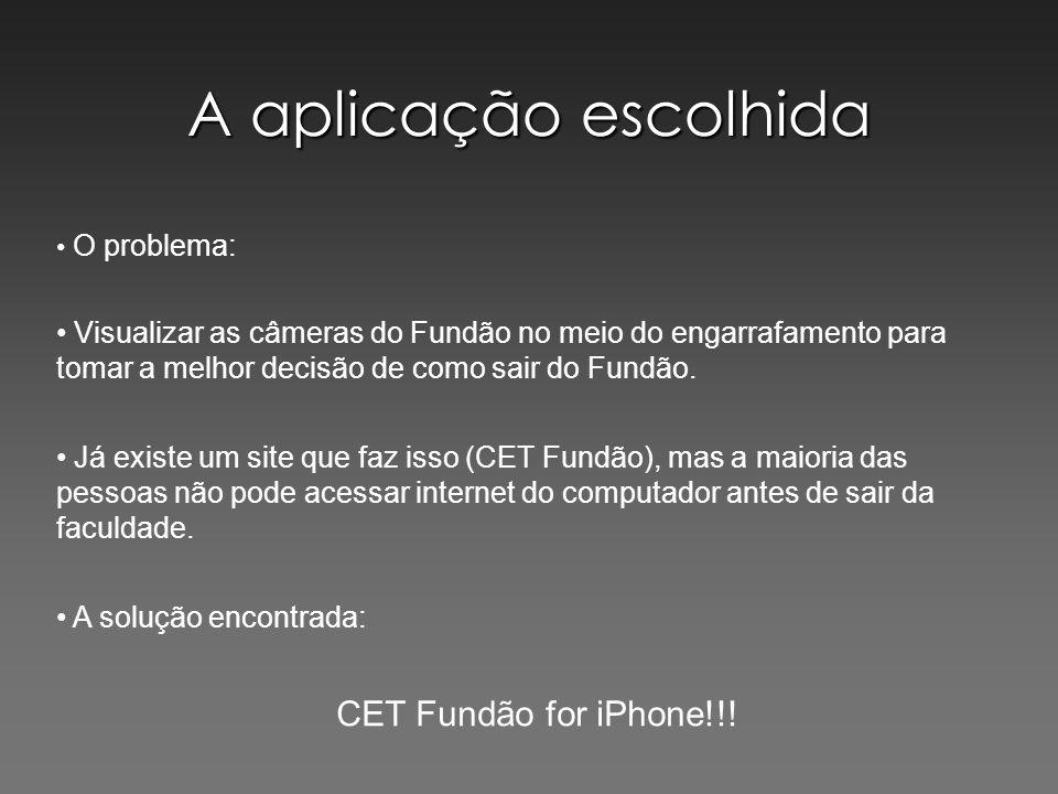 A aplicação escolhida CET Fundão for iPhone!!!