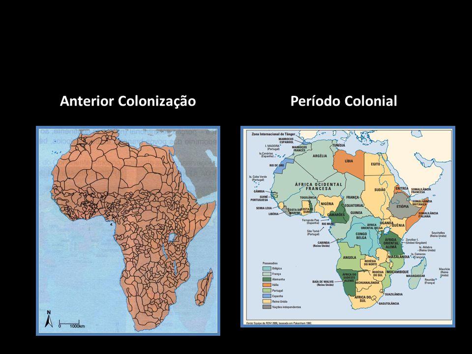 Anterior Colonização Período Colonial