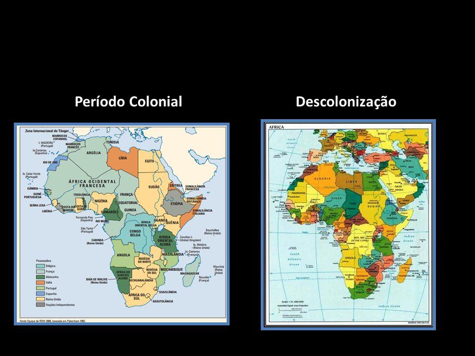 Período Colonial Descolonização