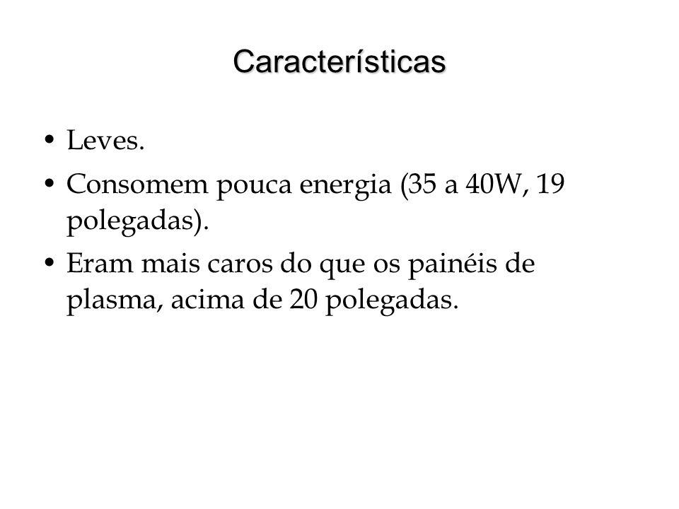 Características Leves.