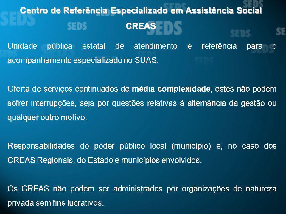 Centro de Referência Especializado em Assistência Social CREAS