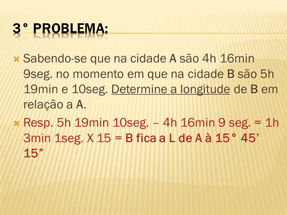 3° problema: