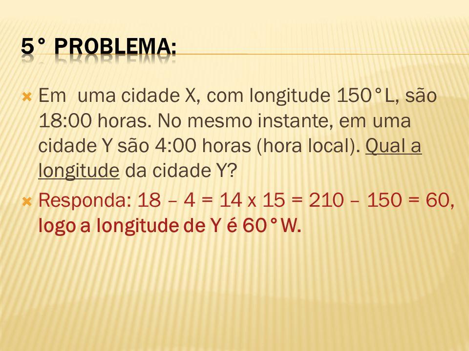 5° problema: