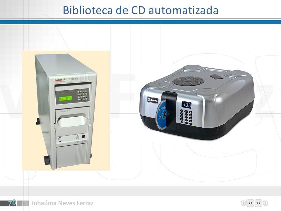 Biblioteca de CD automatizada