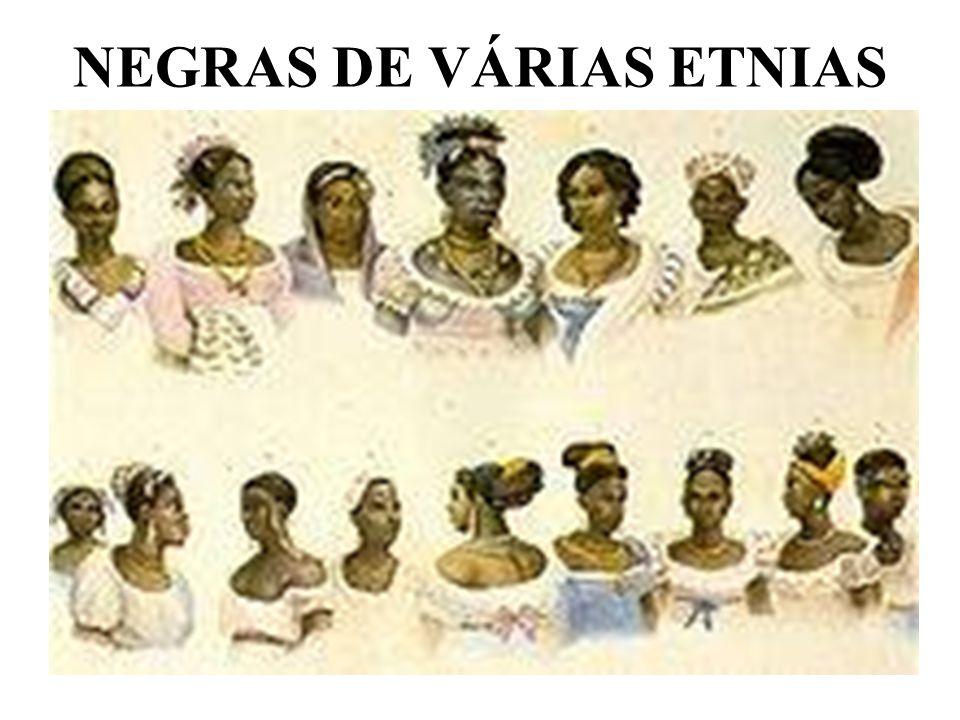 NEGRAS DE VÁRIAS ETNIAS