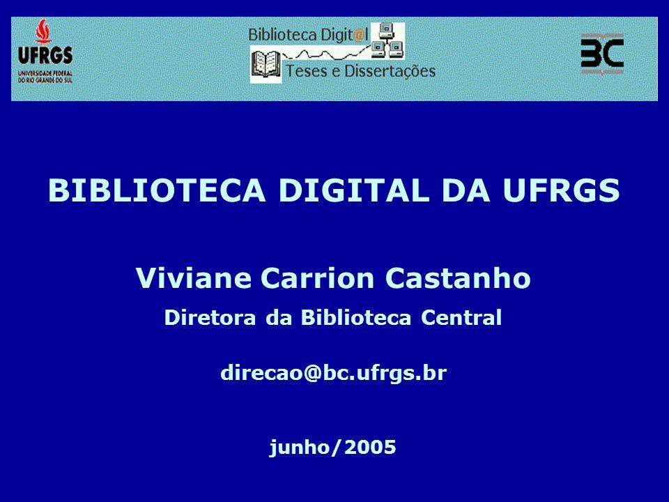 BIBLIOTECA DIGITAL DA UFRGS