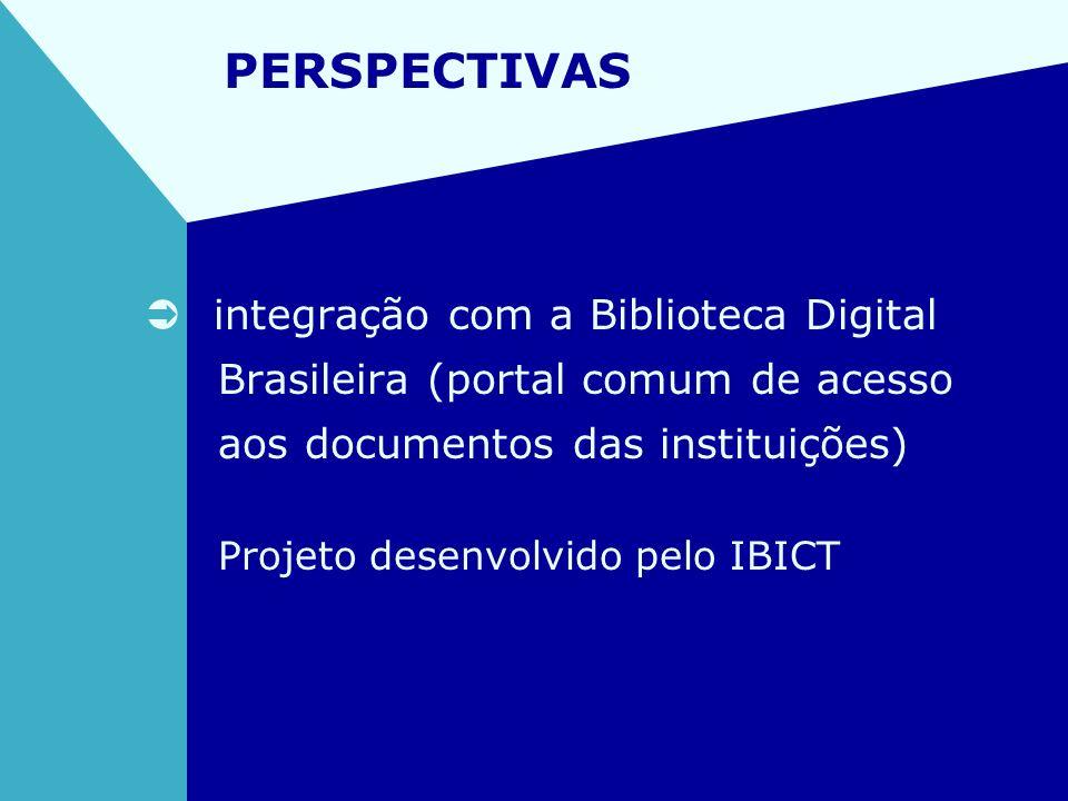 PERSPECTIVAS integração com a Biblioteca Digital