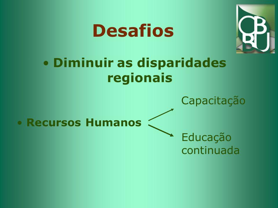 Diminuir as disparidades regionais
