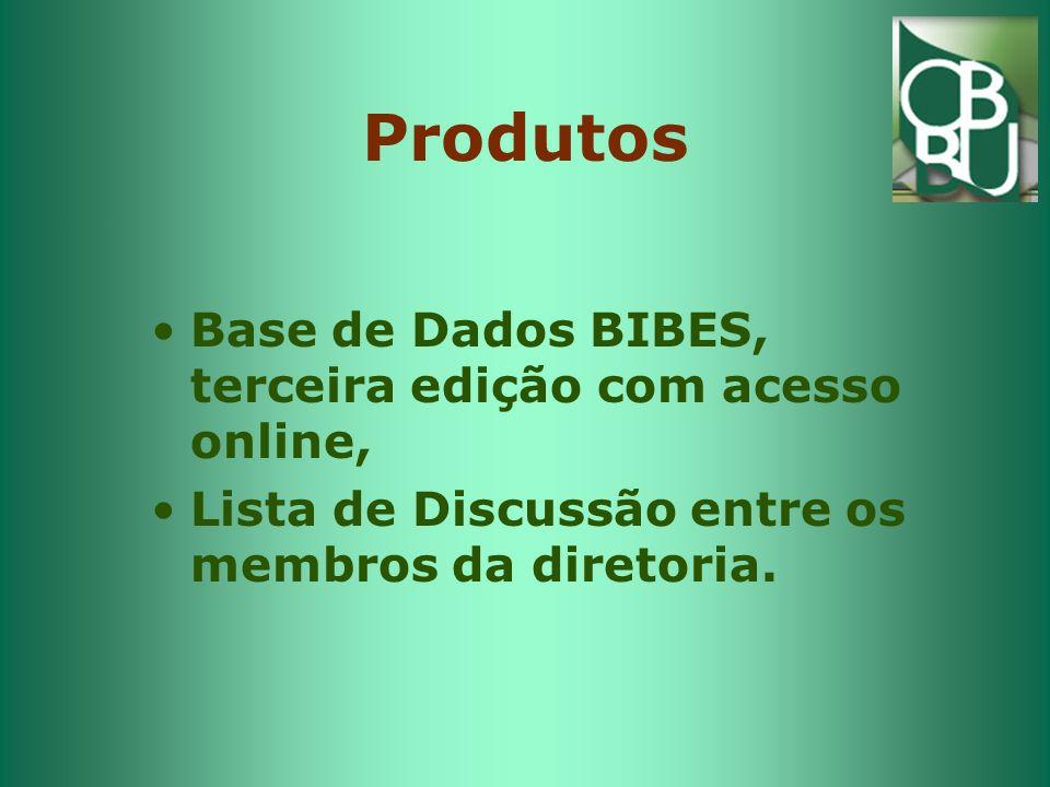 Produtos Base de Dados BIBES, terceira edição com acesso online,