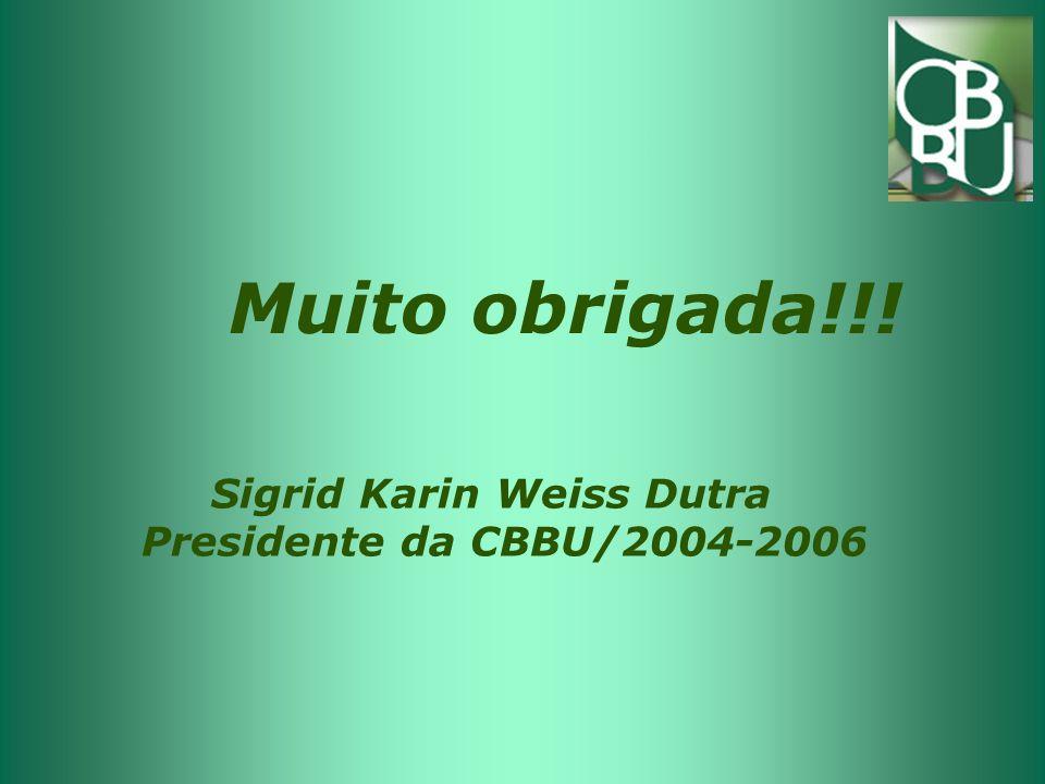 Muito obrigada!!! Sigrid Karin Weiss Dutra