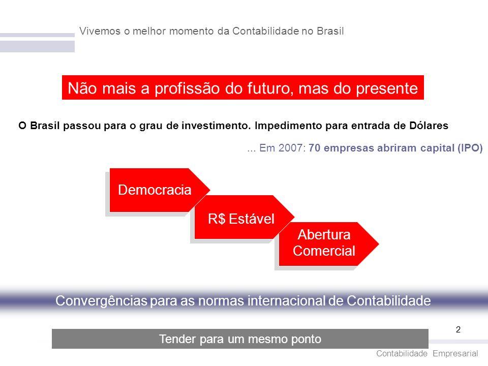 Vivemos o melhor momento da Contabilidade no Brasil