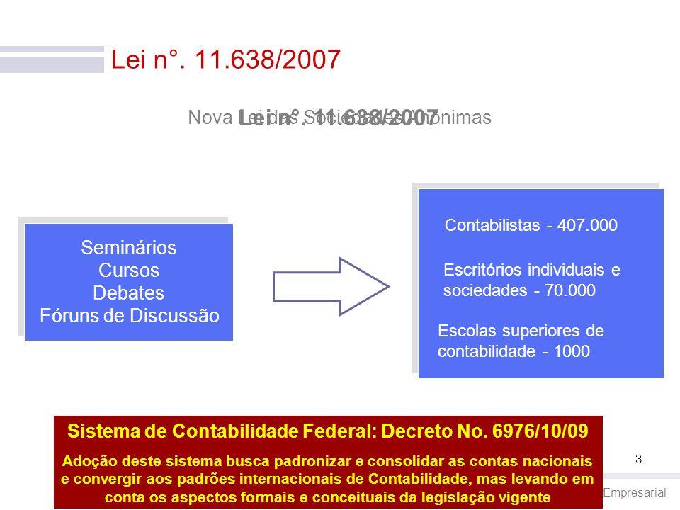 Sistema de Contabilidade Federal: Decreto No. 6976/10/09