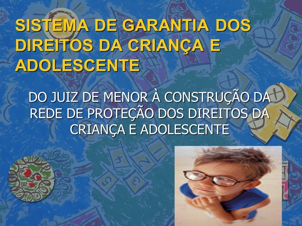 SISTEMA DE GARANTIA DOS DIREITOS DA CRIANÇA E ADOLESCENTE