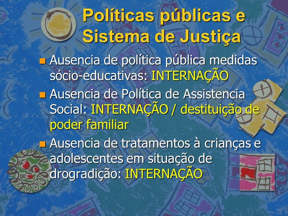 Políticas públicas e Sistema de Justiça
