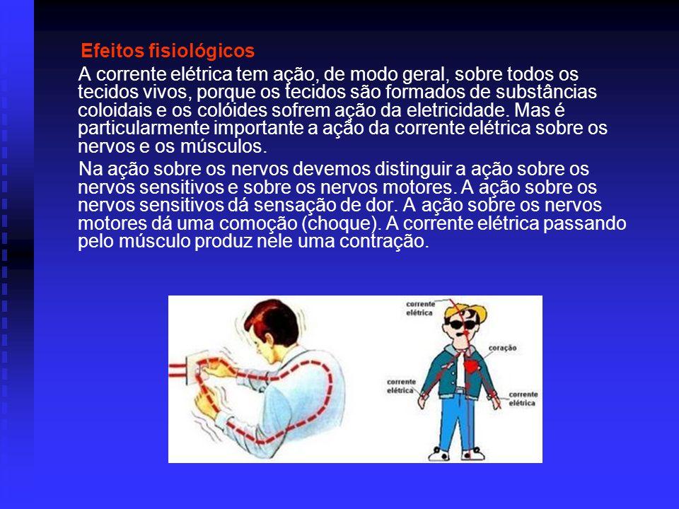 Efeitos fisiológicos