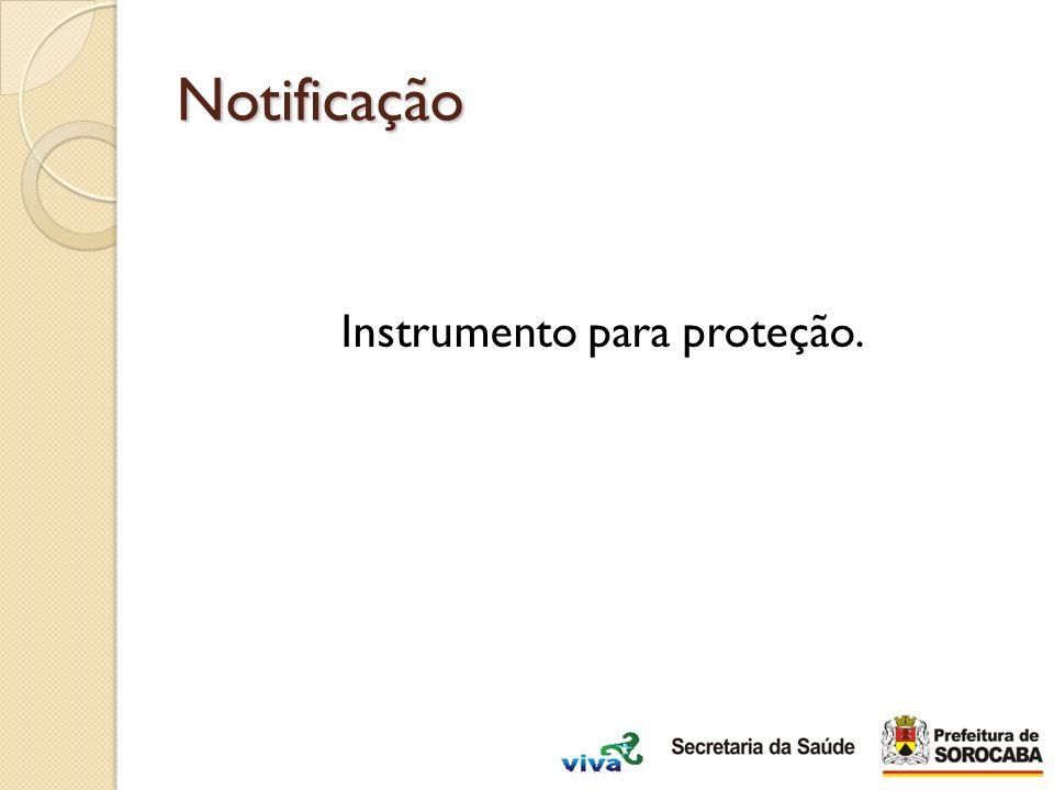 Instrumento para proteção.