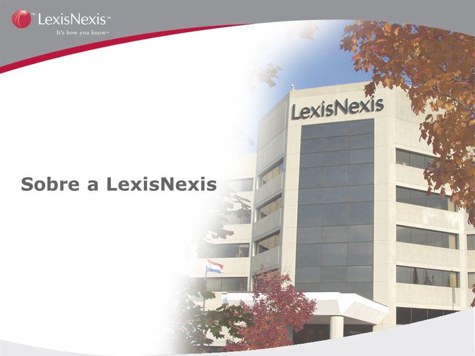 Sobre a LexisNexis