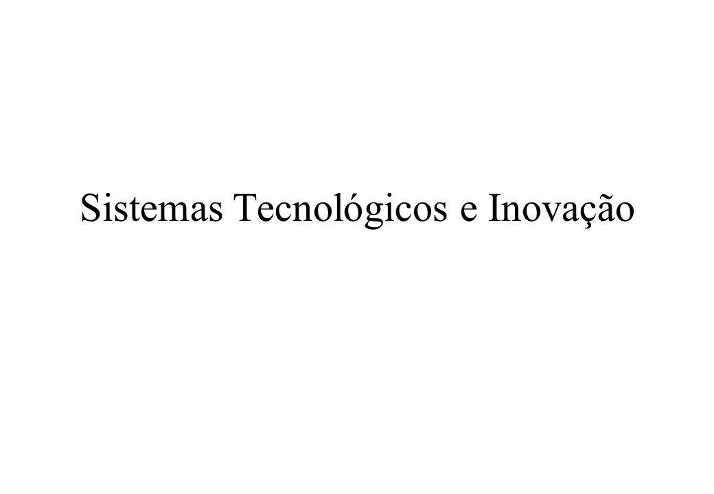Sistemas Tecnológicos e Inovação