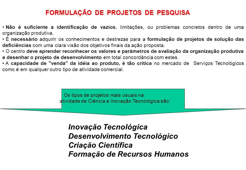 Desenvolvimento Tecnológico Criação Científica