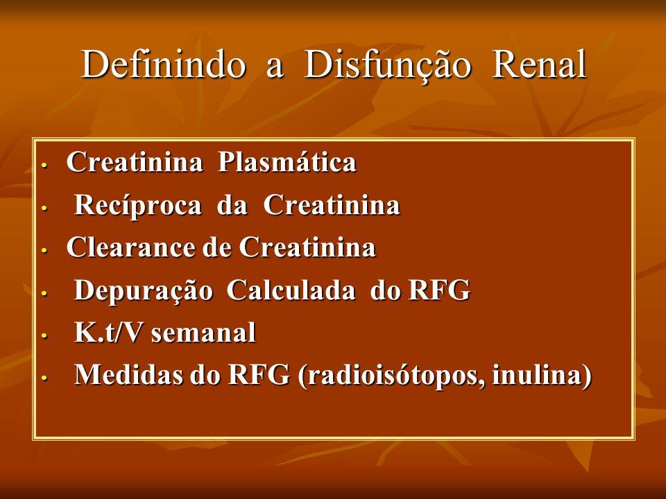 Definindo a Disfunção Renal
