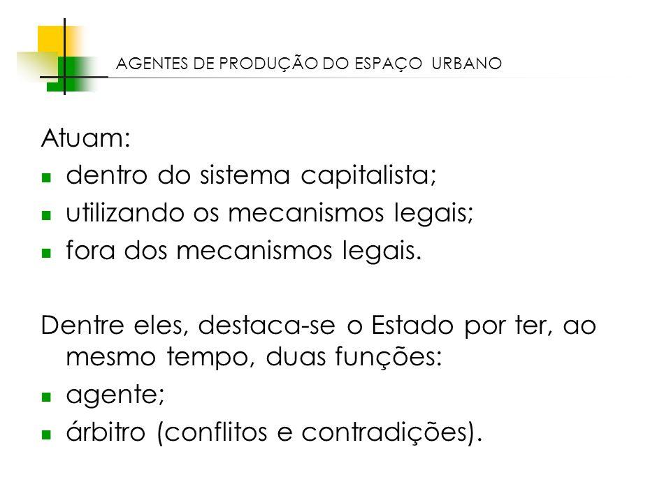 dentro do sistema capitalista; utilizando os mecanismos legais;