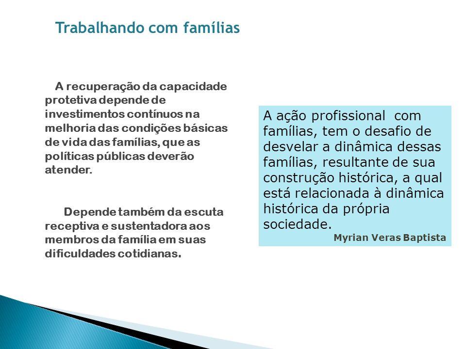 Trabalhando com famílias